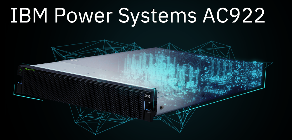 IBM Power Systems AC922,提供最佳的企業 AI 平台。